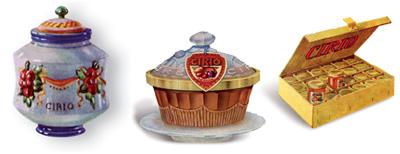 Confezioni in ceramica per marmellate